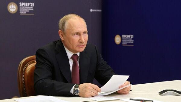 ウラジーミル・プーチン露大統領 - Sputnik 日本