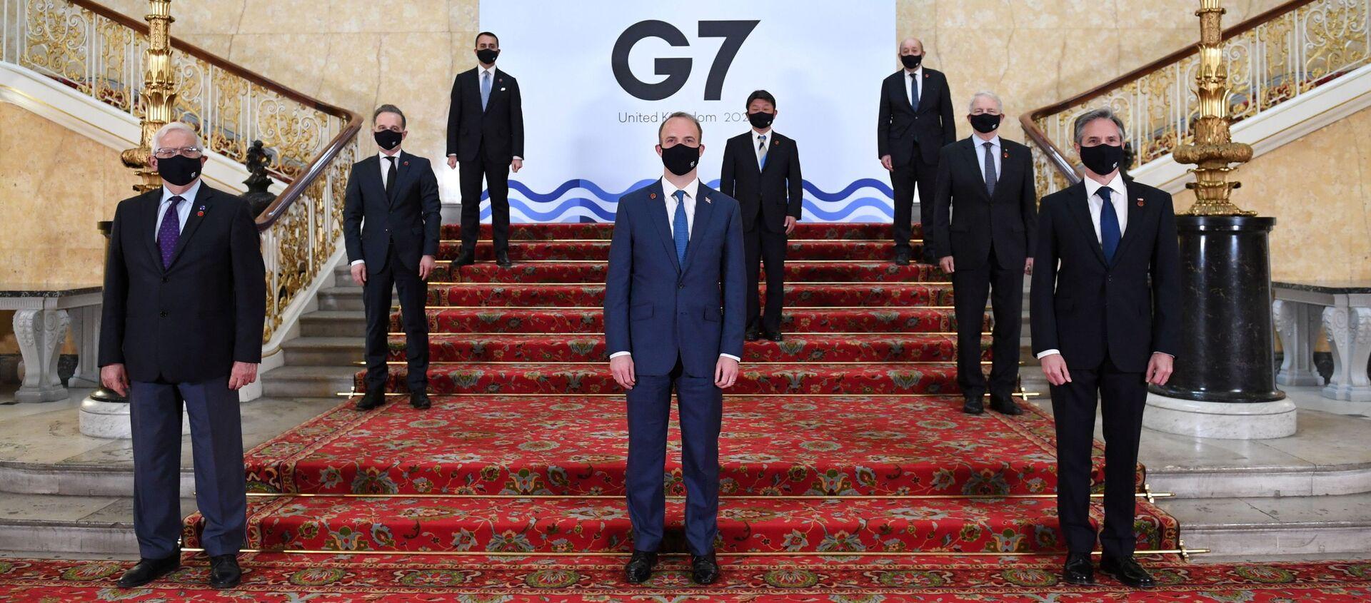 G7サミット - Sputnik 日本, 1920, 14.06.2021