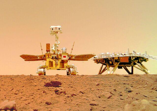 中国、火星着陸の動画を公開