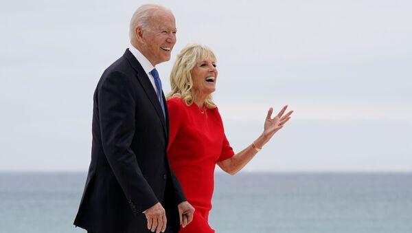 米国のバイデン大統領とジル夫人 - Sputnik 日本