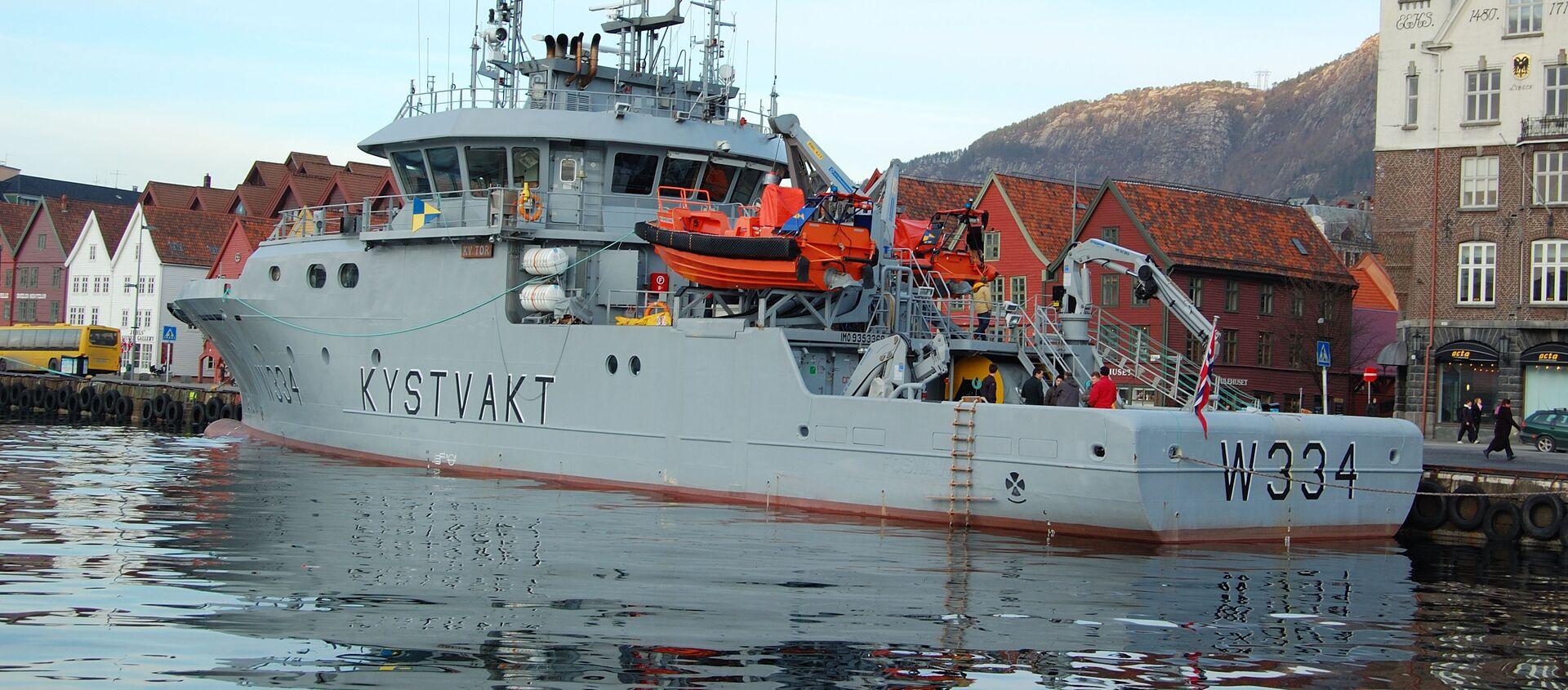 Корабль береговой охраны Норвегии KV Tor  - Sputnik 日本, 1920, 15.06.2021