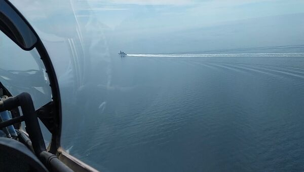 英国海軍の駆逐艦「ディフェンダー」 - Sputnik 日本