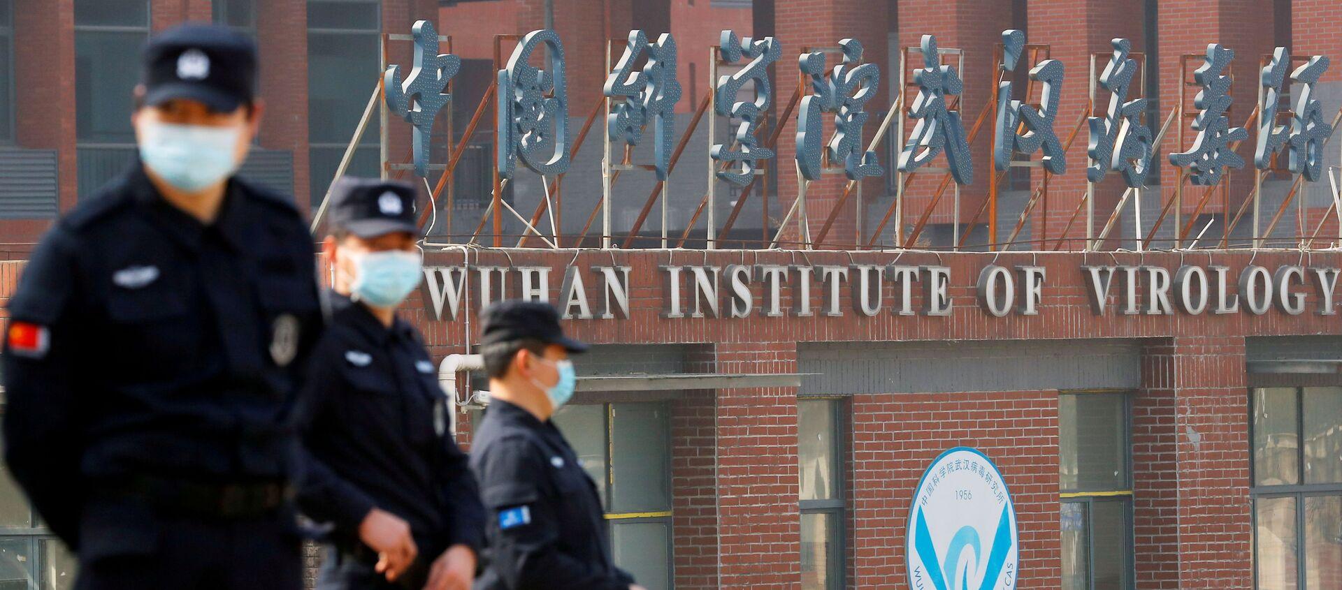 米情報機関 武漢ウイルス研究所のウイルス情報を入手 データ処理に取り組む - Sputnik 日本, 1920, 07.08.2021