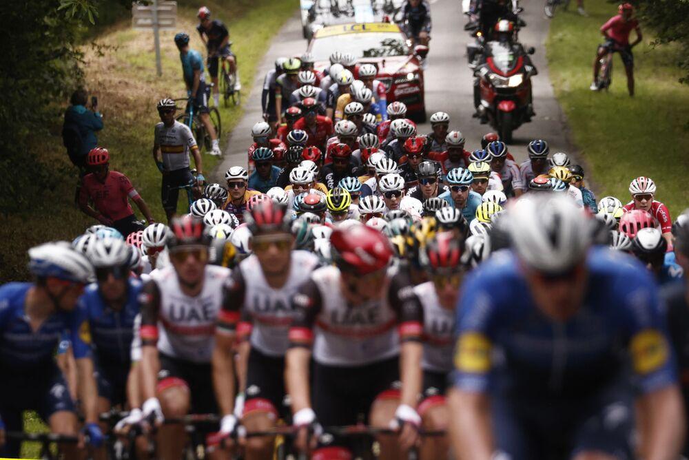 「ツール・ド・フランス」の第1ステージ(ブレストからランデルノー)