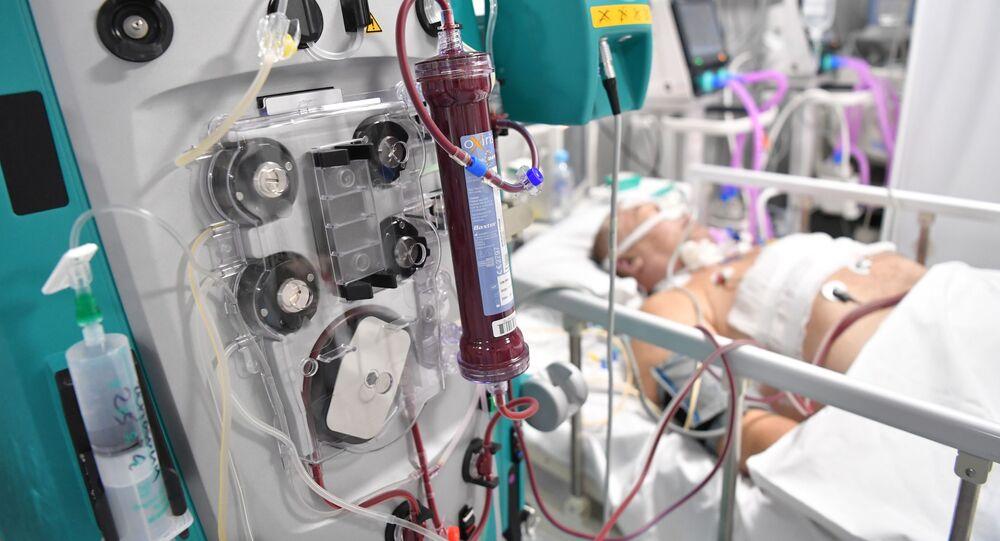 血漿輸血は重症の新型コロナ患者の治療に役立たない