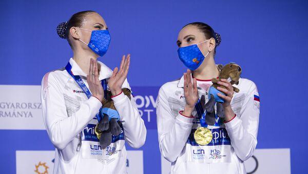 スヴェトラーナ・ロマシナ選手とスヴェトラーナ・コレスニチェンコ選手 - Sputnik 日本