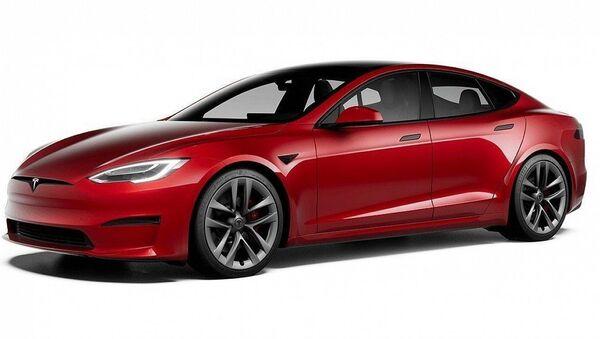 電気自動車「Model S Plaid」 - Sputnik 日本