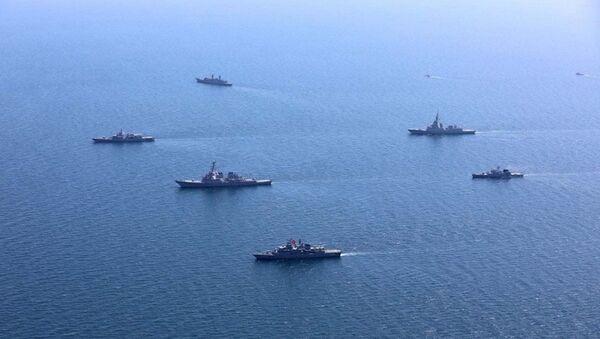 海上軍事演習 - Sputnik 日本