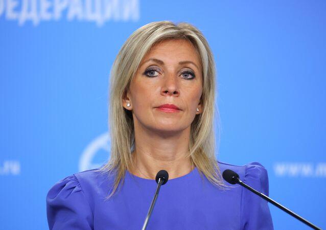 ロシア外務省マリア・ザハロワ報道官