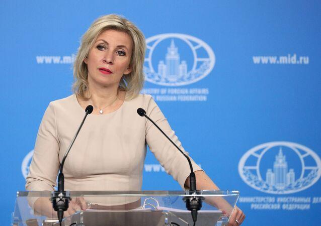ロシア外務省のマリア・ザハロワ報道官