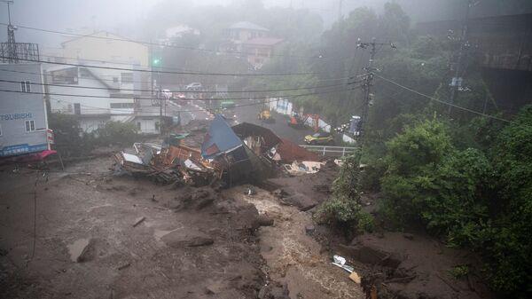 熱海の土石流 静岡県、過去に業者へ是正指導 盛り土の造成工事で - Sputnik 日本