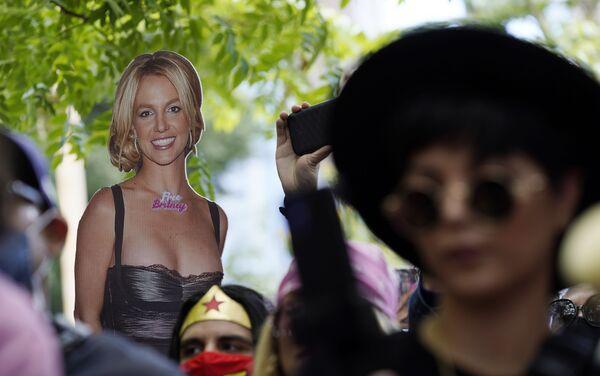 ブリトニー・スピアーズさんの成年後見からの自由を求める運動「Free Britney」 - Sputnik 日本