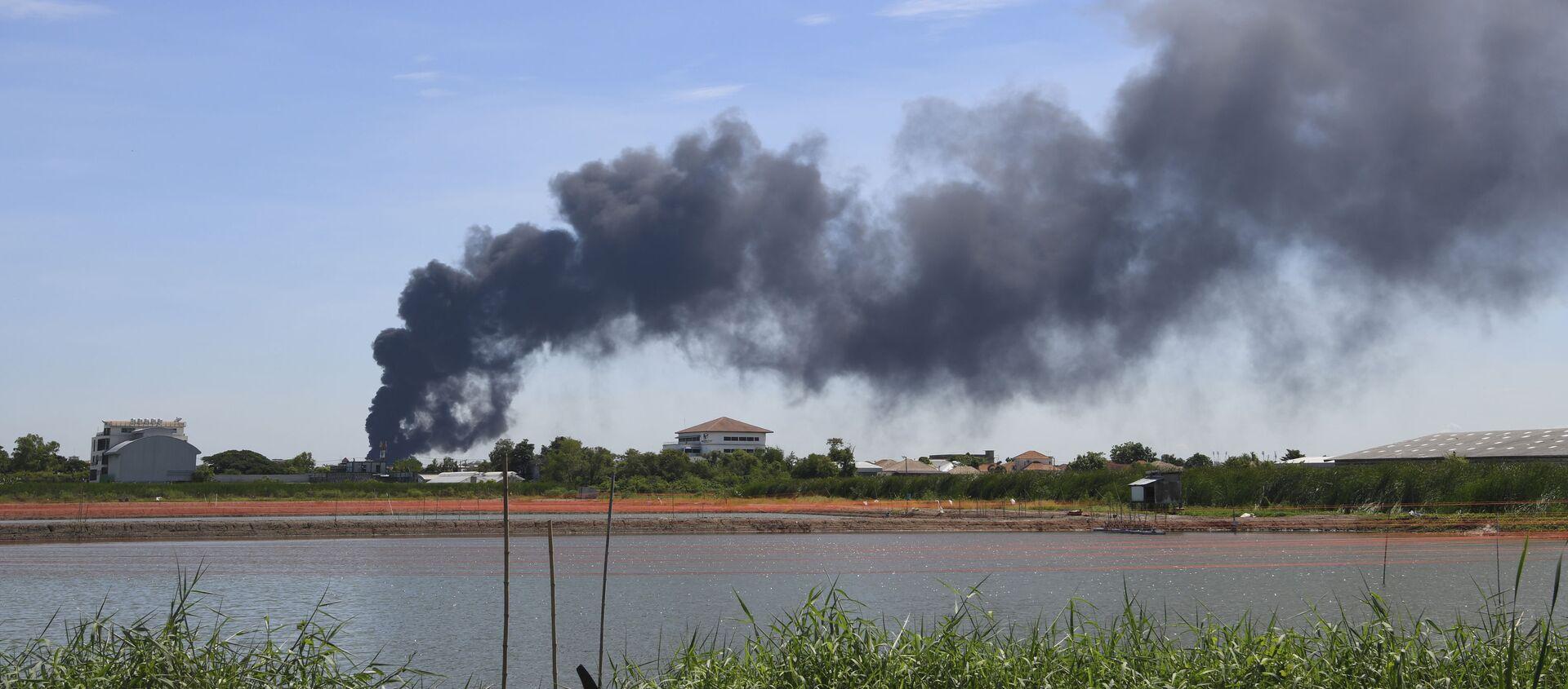 タイ バンコク郊外で化学工場が爆発 - Sputnik 日本, 1920, 05.07.2021