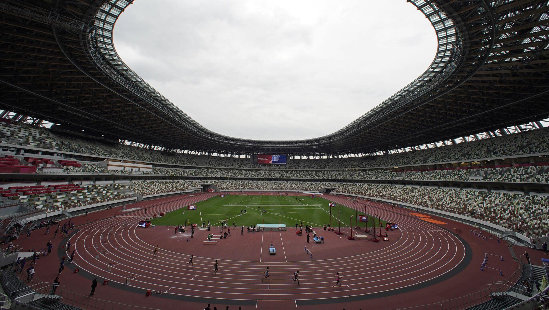 国立競技場の感染リスクは「低い」 スパコンが試算 - Sputnik 日本, 1920, 06.07.2021