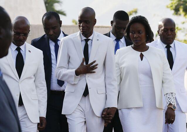 ドミニカのハイチ大使館は大統領夫人死亡の情報を否定