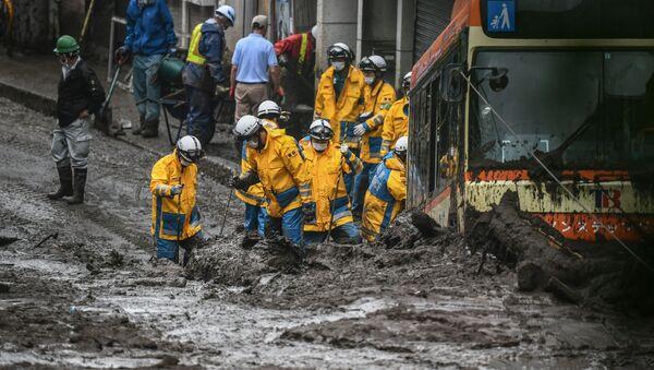 熱海市土石流 死者10人に - Sputnik 日本