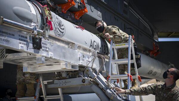 極超音速ミサイル「AGM-183A」空中発射型高速応答兵器(ARRW) - Sputnik 日本