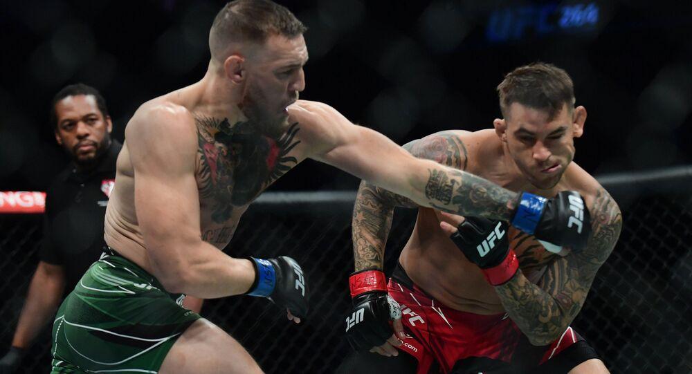 UFC264 コナー・マクレガー敗れる