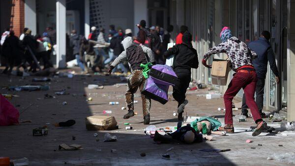南アフリカで起こった暴動 - Sputnik 日本