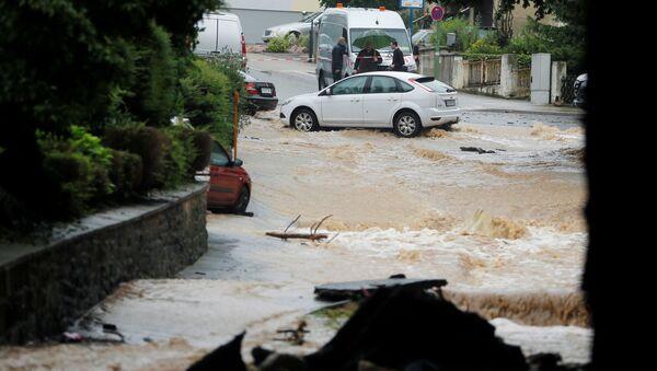 ドイツで発生の洪水 - Sputnik 日本