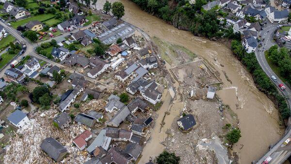 ドイツ西部の洪水 - Sputnik 日本