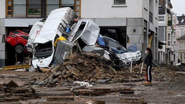 ドイツやの洪水 - Sputnik 日本