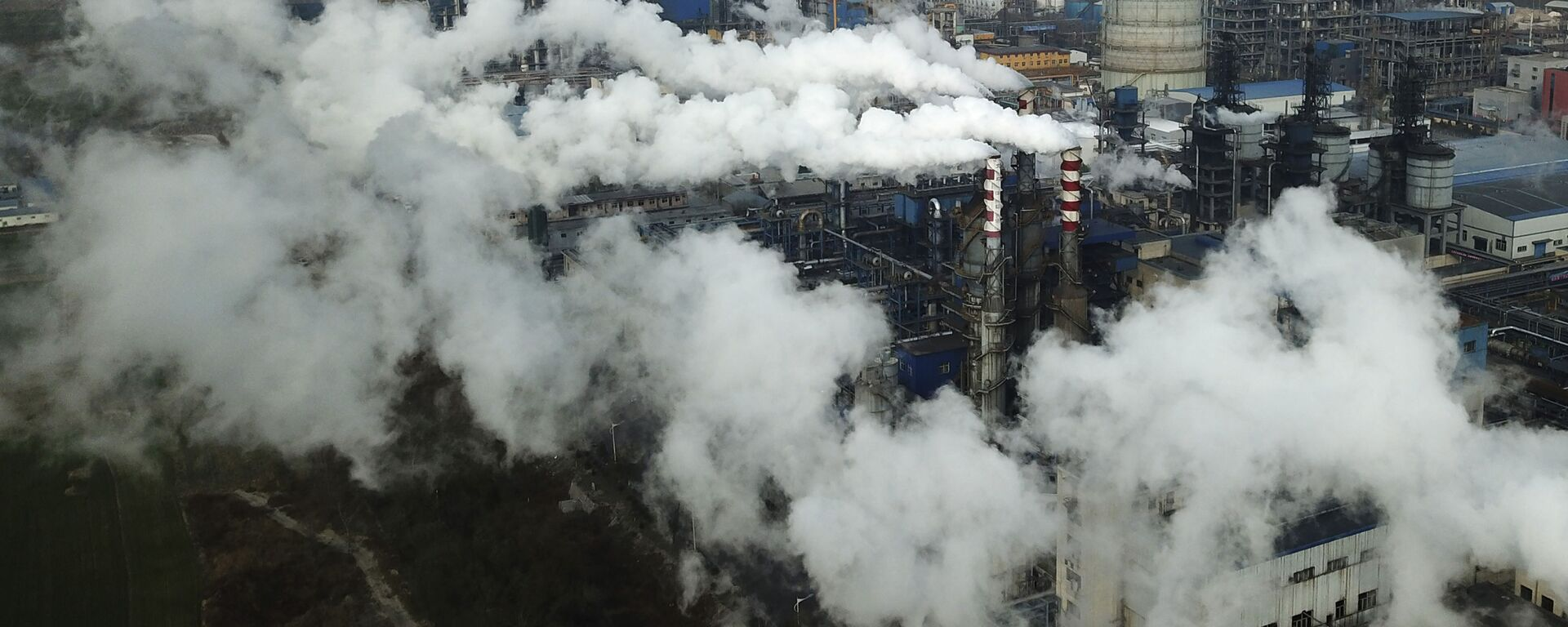 中国 有害物資の割当量取引を開始 - Sputnik 日本, 1920, 17.07.2021