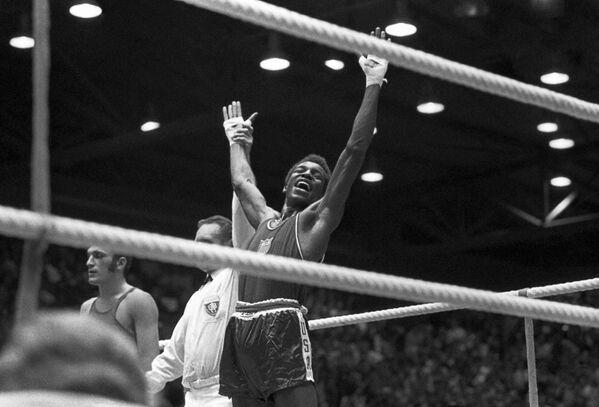 1972年ミュンヘンオリンピック(第20回大会)に出場した米国のボクシング選手 - Sputnik 日本