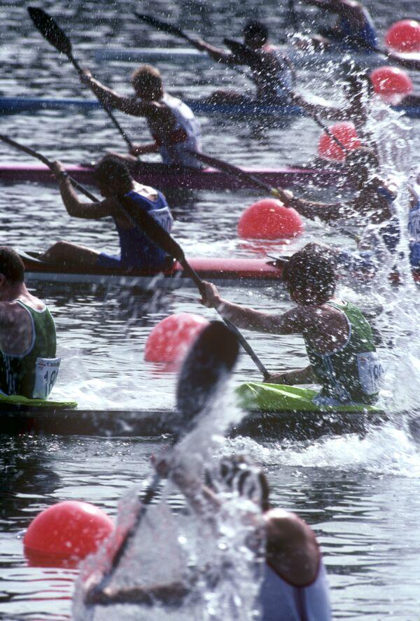 1992年バルセロナオリンピック(第25回大会)で行われたボート競技 - Sputnik 日本