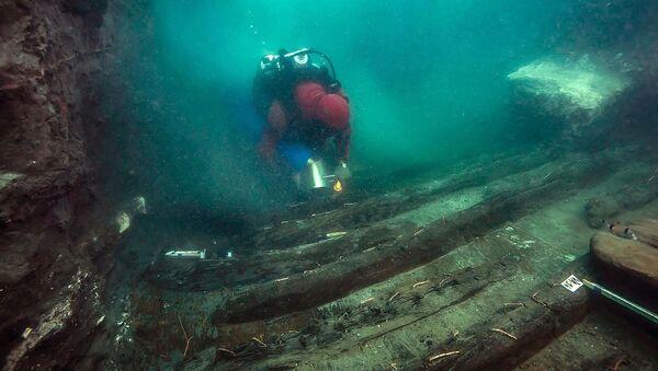 エジプトで考古学者が古代の戦艦の残骸を発見 - Sputnik 日本