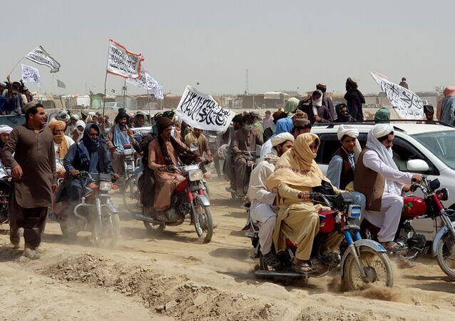 アフガニスタン タリバンの旗