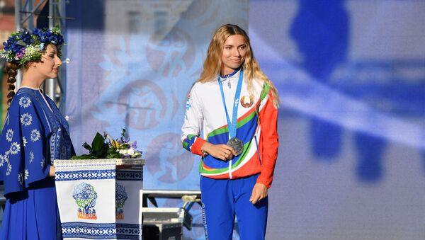 Награждение белорусских легкоатлетов, успешно выступивших на II Европейских играх - Sputnik 日本