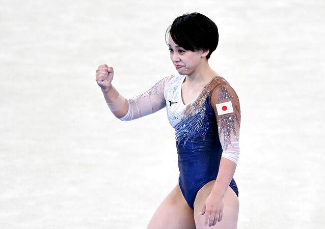 日本の村上茉愛選手