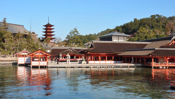 現在の厳島神社本殿(廿日市市) - Sputnik 日本
