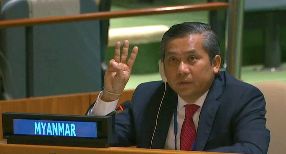 ミャンマーのチョー・モー・トゥン国連大使