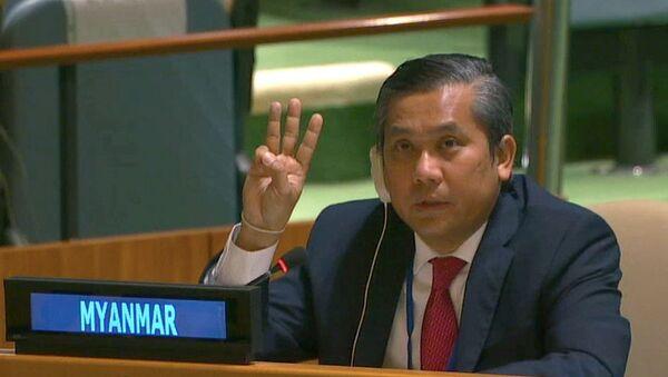 ミャンマーのチョー・モー・トゥン国連大使 - Sputnik 日本