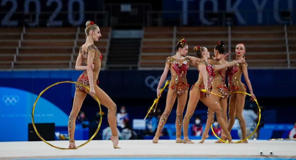 東京五輪 新体操団体決勝ロシア2位
