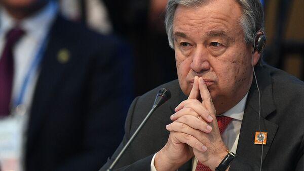 国連のアントニオ・グテーレス事務総長 - Sputnik 日本
