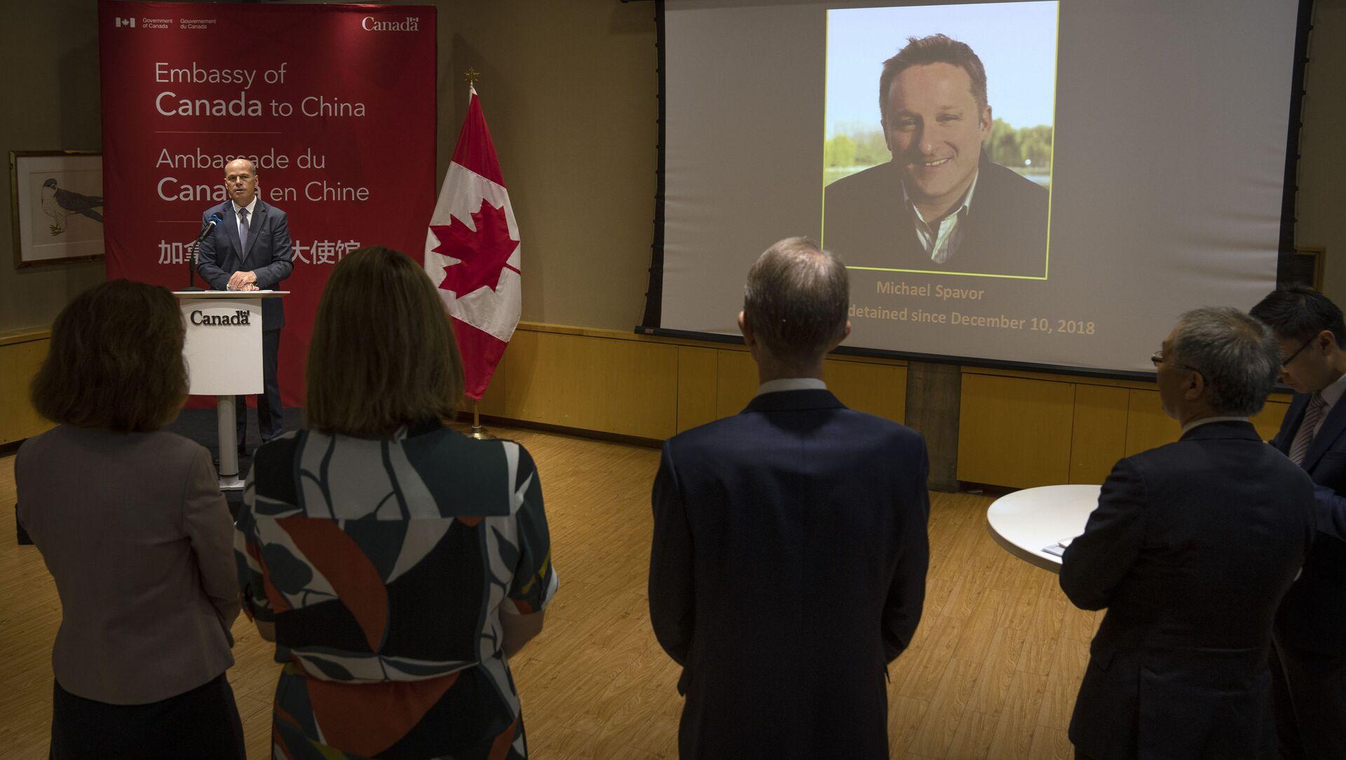 中国、カナダ人実業家に懲役11年 国家機密めぐり 首相は激しく非難 - Sputnik 日本, 1920, 11.08.2021