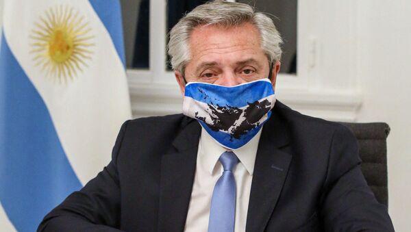 アルゼンチンのアルベルト・フェルナンデス大統領 - Sputnik 日本