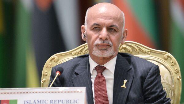 アフガニスタンのアシュラフ・ガニー大統領 - Sputnik 日本