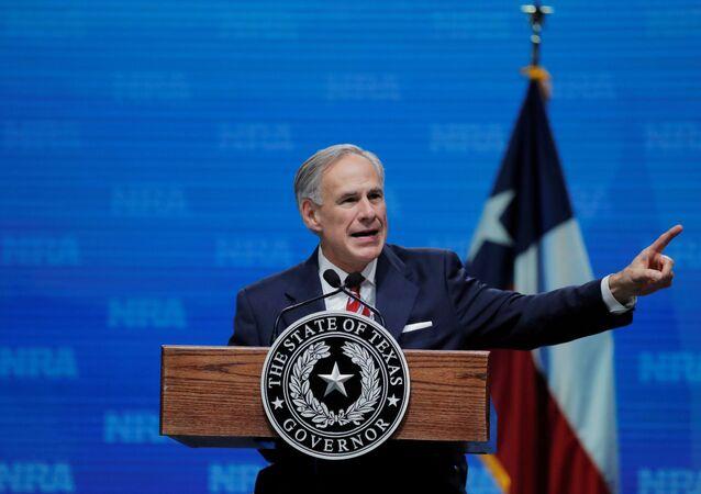 米テキサス州のグレッグ・アボット知事