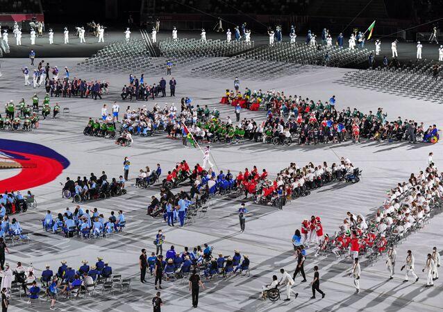 20組の代表団がパレード参加を拒否 東京パラリンピック開幕式