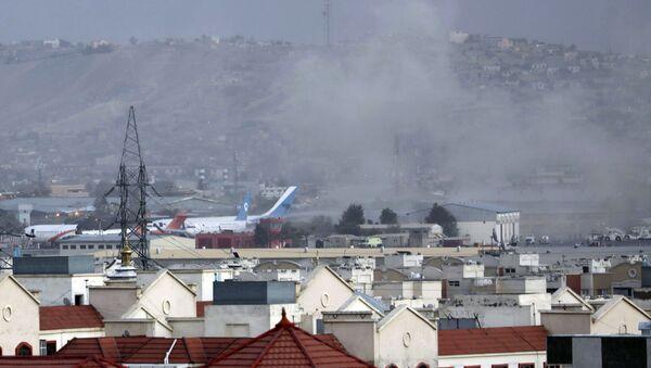 カブール空港付近で銃撃 マスコミ報道 - Sputnik 日本