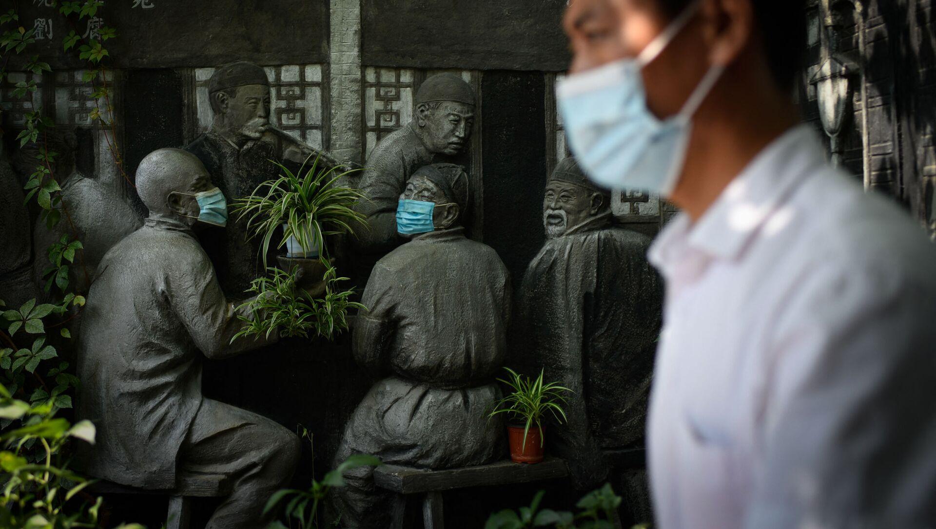 マスクなし会食で感染リスクが4倍に 専門家らが調査 - Sputnik 日本, 1920, 08.10.2021