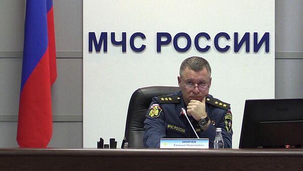 ロシア非常事態省のエフゲニー・ジニチェフ大臣 - Sputnik 日本