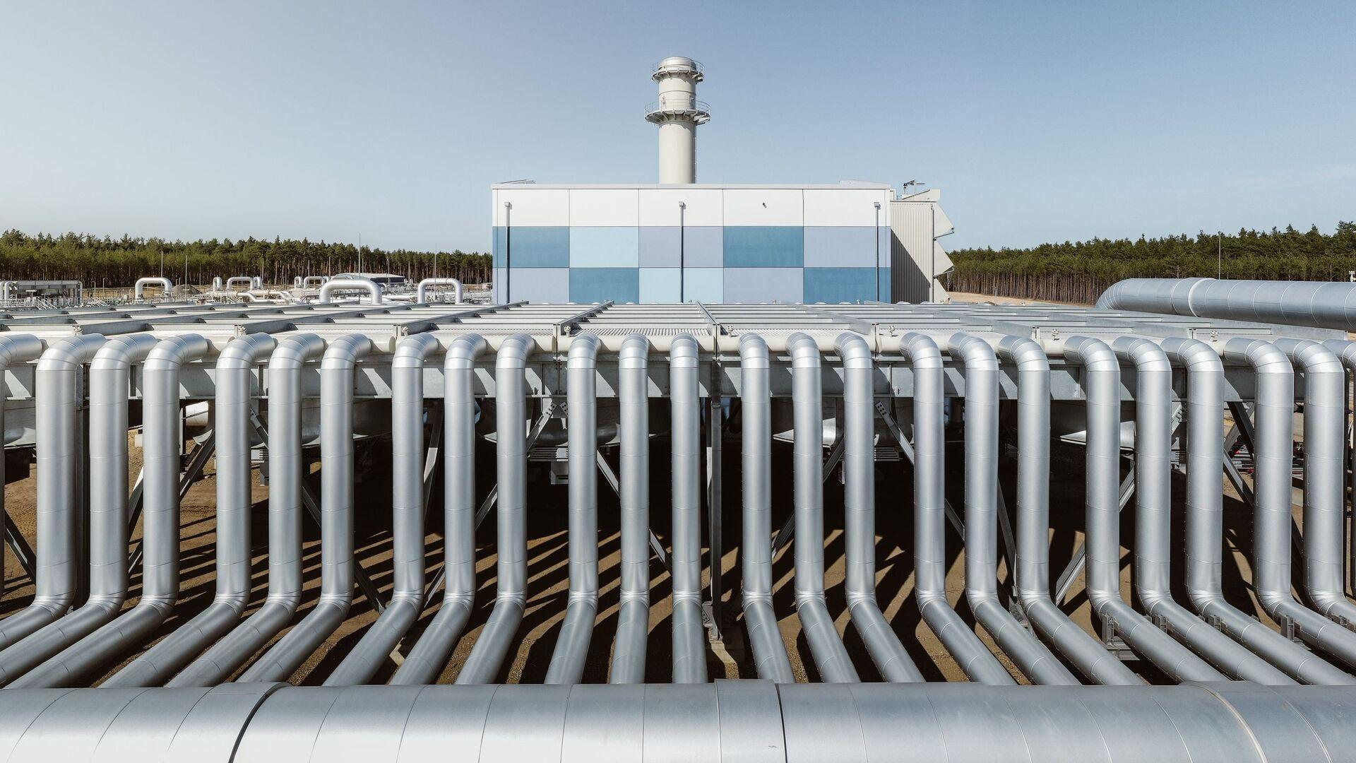Строительство газопровода Северный поток-2 в Германии - Sputnik 日本, 1920, 17.09.2021