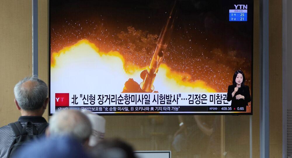 北朝鮮によるミサイル発射実験