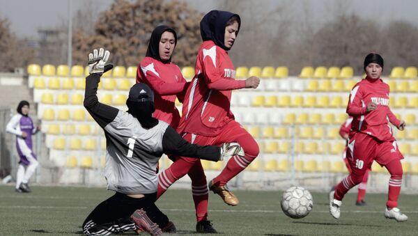 アフガン 女子サッカー選手ら - Sputnik 日本