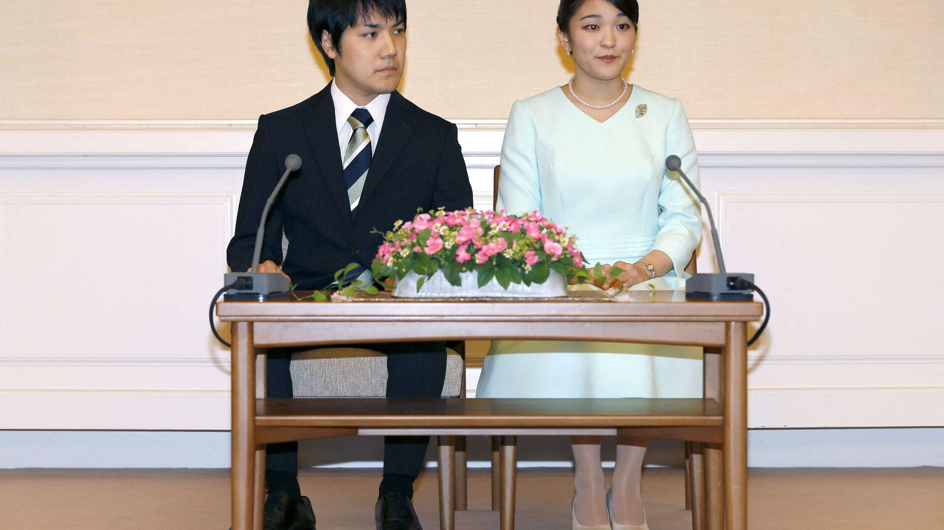 小室圭さん、27日に米国から日本へ帰国 眞子さまと記者会見も検討 - Sputnik 日本, 1920, 22.09.2021